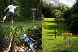 Disc-Golf spielen in der Fränkischen Schweiz mit dem Golfhotel Behringers